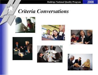 Criteria Conversations