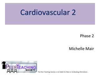 Phase 2  Michelle Mair
