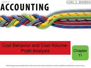 Cost Behavior and Cost-Volume-Profit Analysis