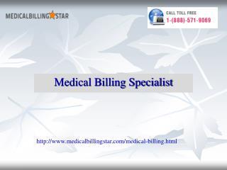 Medical billing specialist