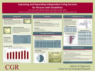 Improving and Expanding Independent Living Services  for Persons with Disabilities