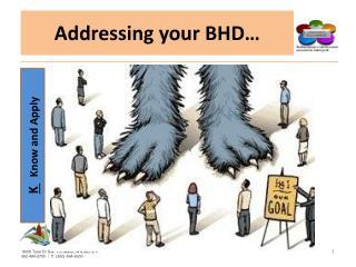 Addressing your BHD…