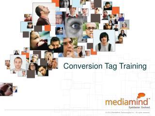 Conversion Tag Training