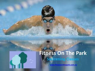 Swimming Classes Adelaide   Fitness on the Park