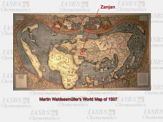 Martin Waldseem�ller's World Map of 1507
