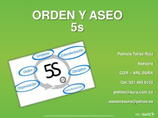 ORDEN Y ASEO 5s