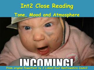 Int2 Close Reading