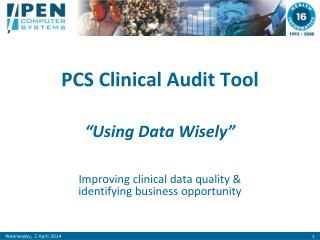 PCS Clinical Audit Tool