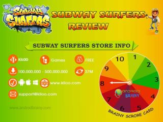 Subway Surfer Smartphone Game Review Infographics