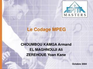 Le Codage MPEG