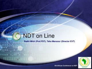 NDT on Line
