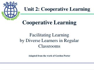 Unit 2: Cooperative Learning