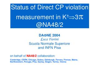 Status of A g  measurement in NA48/2
