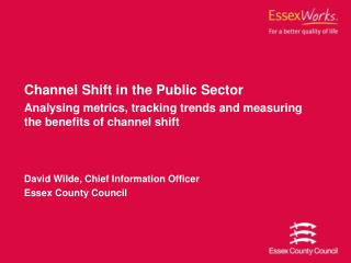 Channel Shift in the Public Sector