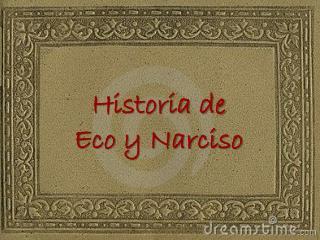 Historia de Eco y Narciso