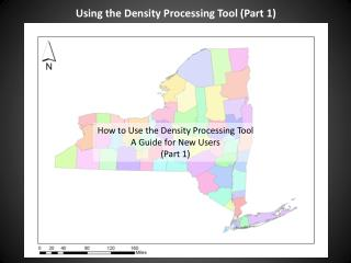 Using the Density Processing Tool (Part 1)