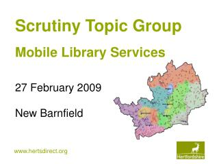Scrutiny Topic Group