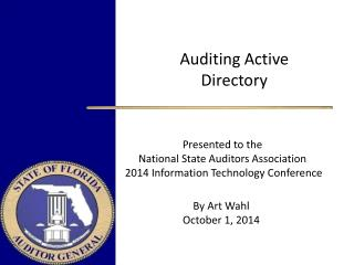 Auditing Active Directory