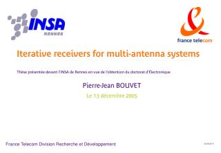 Th se pr sent e devant l INSA de Rennes en vue de l obtention du doctorat d  lectronique