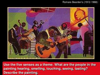 Romare Bearden's (1912-1988):