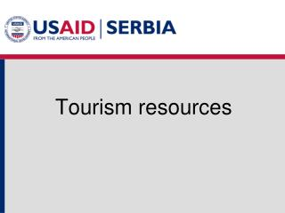 Tourism resources