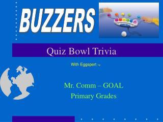 Quiz Bowl Trivia