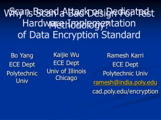 Scan Based Attack on Dedicated Hardware Implementation of Data Encryption Standard