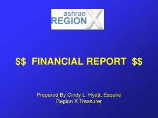 $$  FINANCIAL REPORT  $$