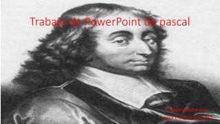 Trabajo de PowerPoint de pascal