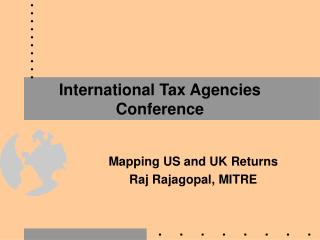 International Tax Agencies Conference