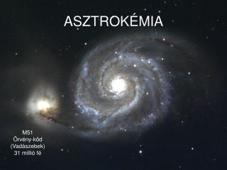 ASZTROKÉMIA