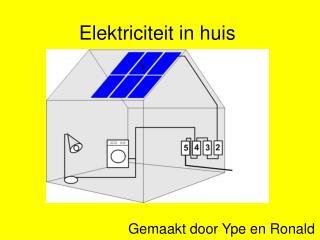 Elektriciteit in huis
