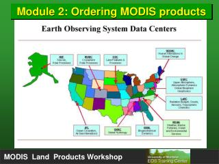 Module 2: Ordering MODIS products