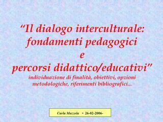Carla Mazzola   -  26-02-2006-