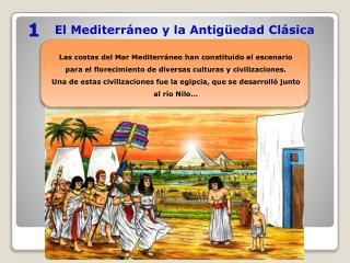 El Mediterráneo y la Antigüedad Clásica