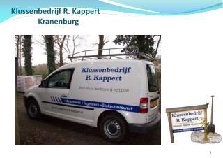 Klussenbedrijf R. Kappert                Kranenburg