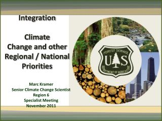 Integration Climate  Change and other Regional / National Priorities