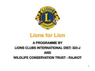 Lions for Lion
