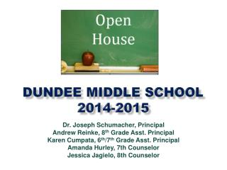 Dundee Middle School 2014-2015