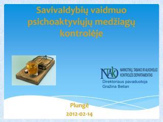 Savivaldybių vaidmuo psichoaktyviųjų medžiagų kontrolėje