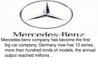 Mercedes-benz logo 奔驰汽车标志