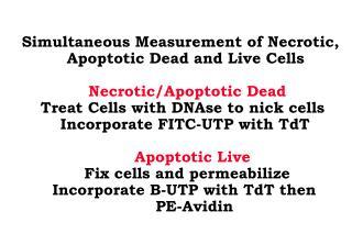 Simultaneous Measurement of Necrotic,