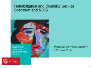 Rehabilitation and Disability Service Spectrum and NDIS