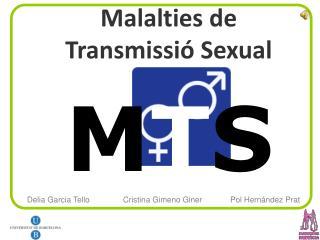 Malalties de  Transmissió Sexual