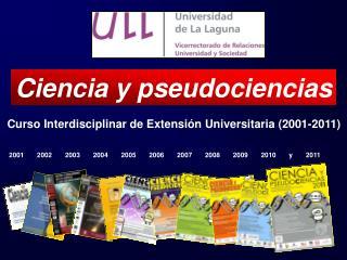 Curso Interdisciplinar de Extensión Universitaria (2001-2011)