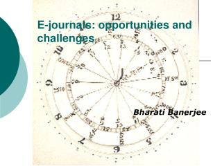 E-journals: opportunities and challenges