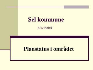 Sel kommune Line Brånå