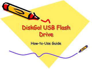 DiskGo! USB Flash Drive