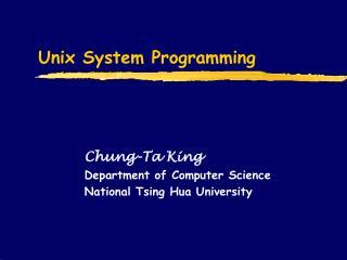 Unix System Programming