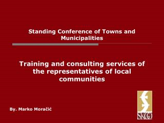 Standing Conference of Towns and Municipalities